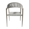 Hot Sale Modern Leisure Coffee Woven Garden Outdoor Chair Rope Furniture