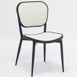 French Modern Paris Outdoor Mesh Chairs Aluminium Bistro Chair