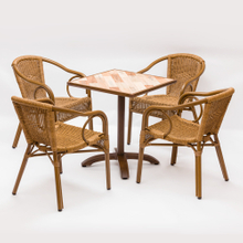 Outdoor Garden Aluminum Table And Chairs Set Factory