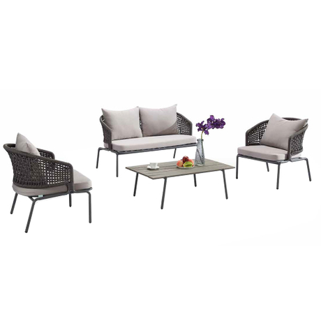 Garden Patio Cheap Furniture Aluminium Rattan Sofa Sets Sale