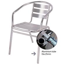 Outdoor Garden Chairs Modern Frame Cafe Aluminium Chair