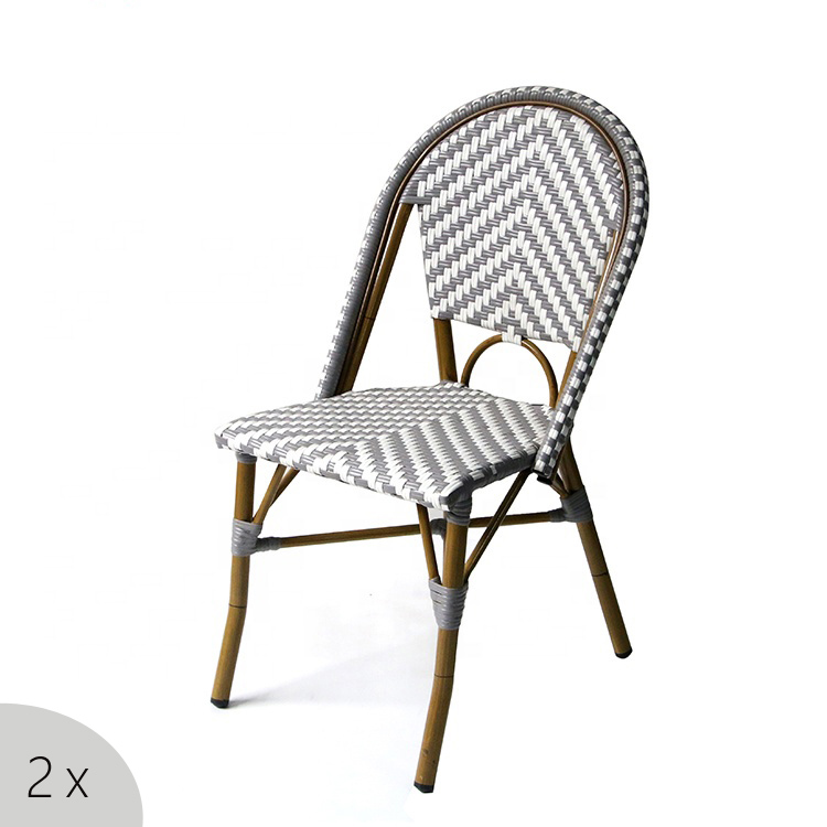Pub Outdoor Ceramic Dining Table 2 Chair Set