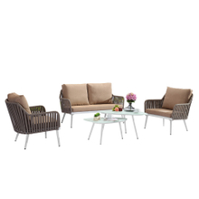 Outdoor Garden Patio Woven Rope Furniture And Chair