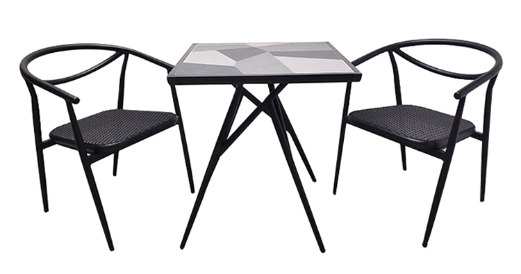 ceramic tile patio table set (1)
