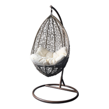 Outdoor Rattan Hanging Egg Chair Swing